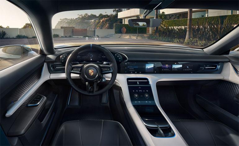 2021 Porsche Taycan Cross Turismo Interior