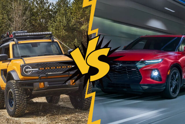 Ford Bronco vs Chevy Blazer: Will the Rivalry Continue?