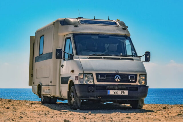 Camper Van Hire For Traveling On The Road In Australia's Outback