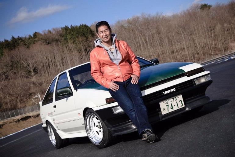 Keiichi Tsuchiya Toyota AE85