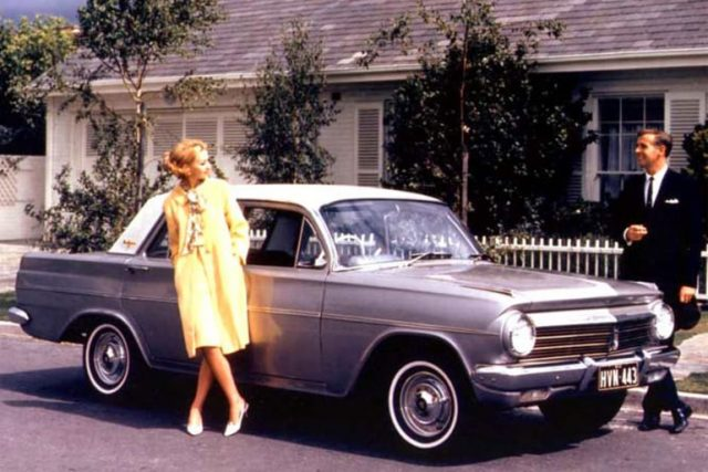 The Success Story Behind the EH Holden 1963