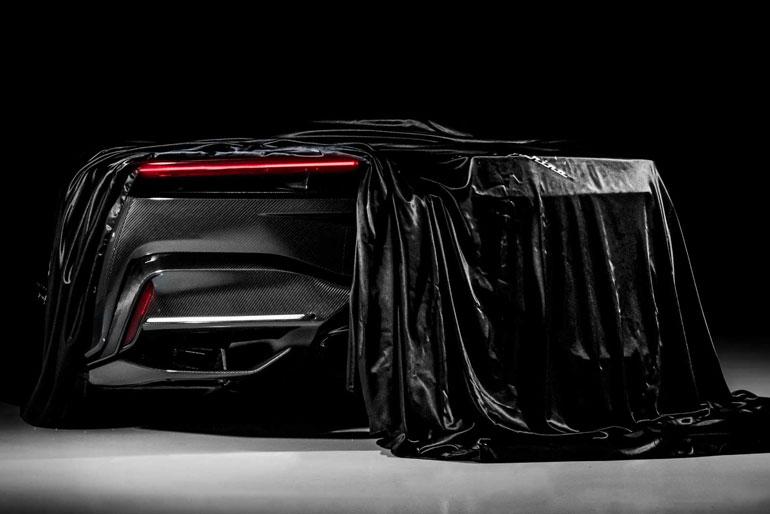 Automobili Pininfarina Battista Debut Teaser Covered Tail