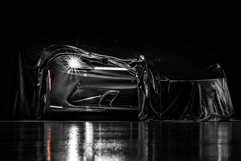 Automobili Pininfarina Battista Debut Teaser Covered