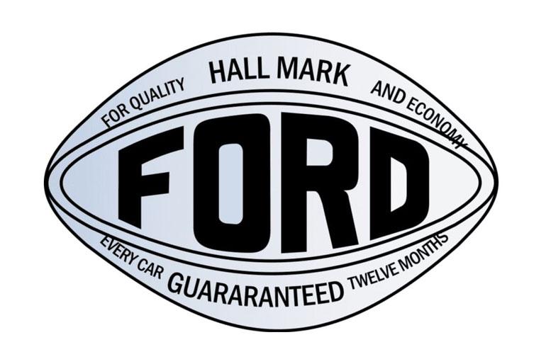 1907 Ford Logo