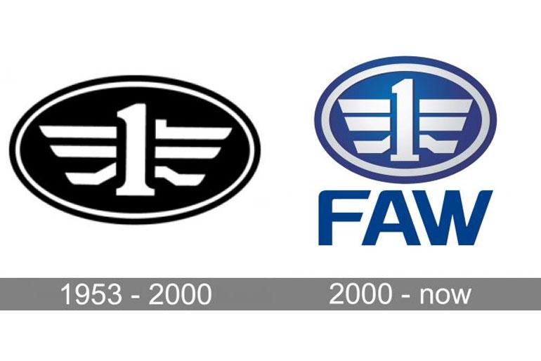 FAW Logo history